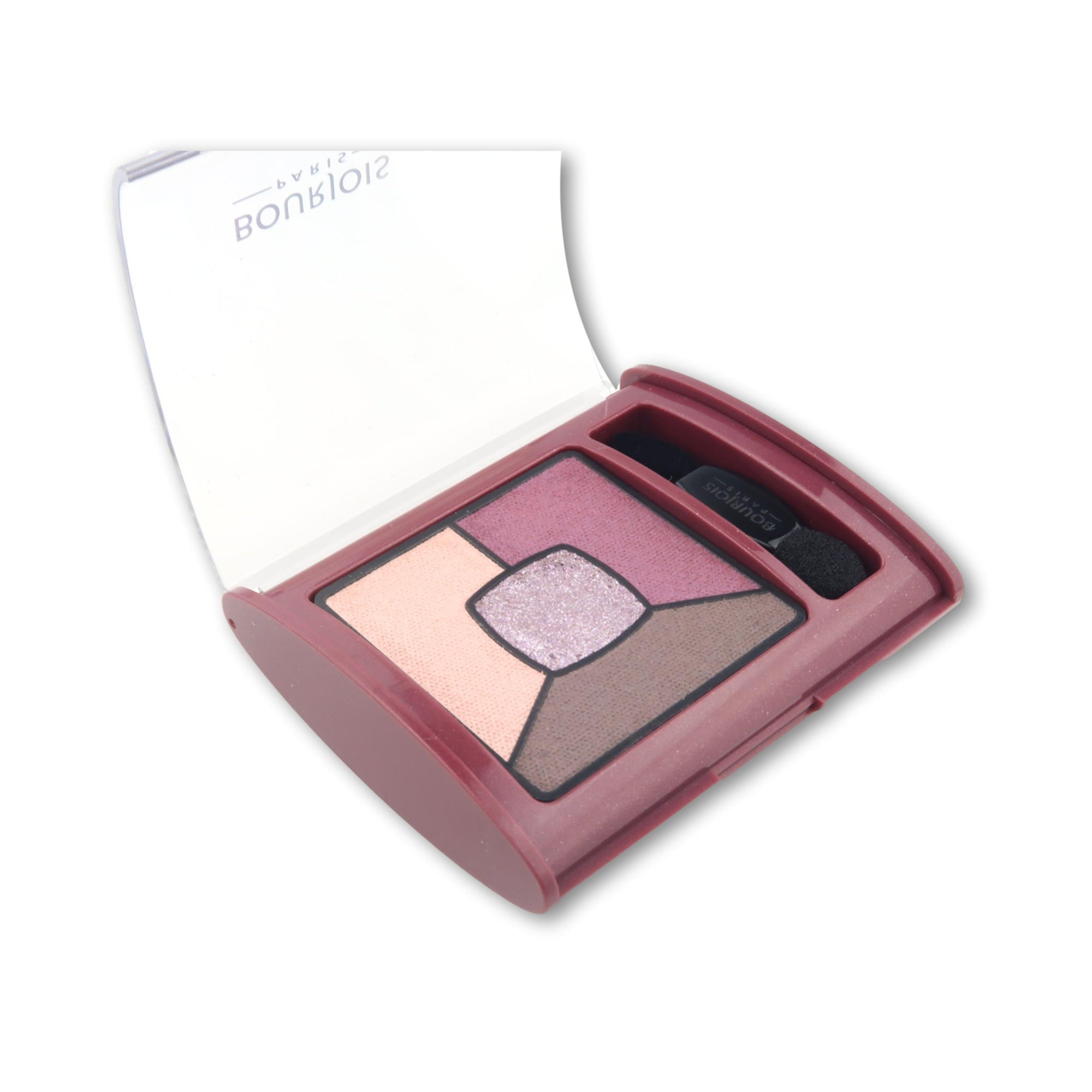 Bourjois Smokey Stories Quad Eyeshadow Brilliant Prunette 015