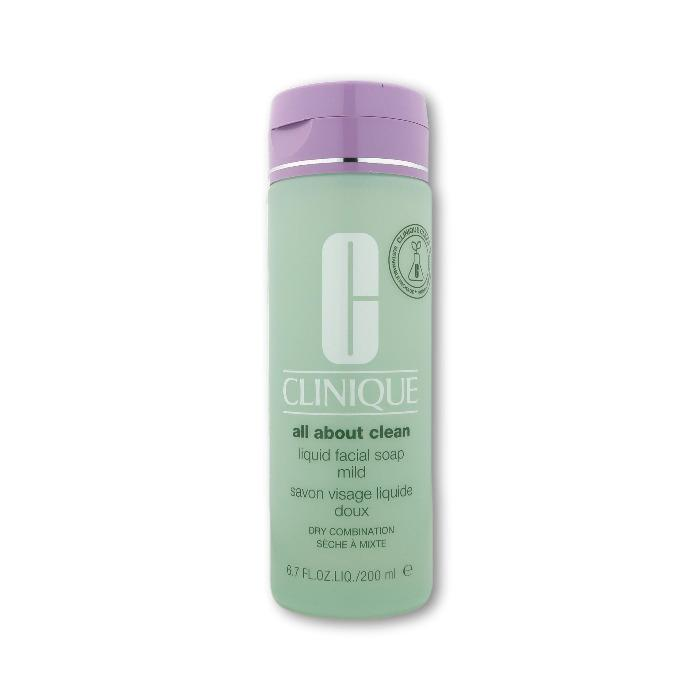 CliniqueClinique All About Clean Liquid Facial Soap Mild 200ml Cleanser- Beauty Full Time
