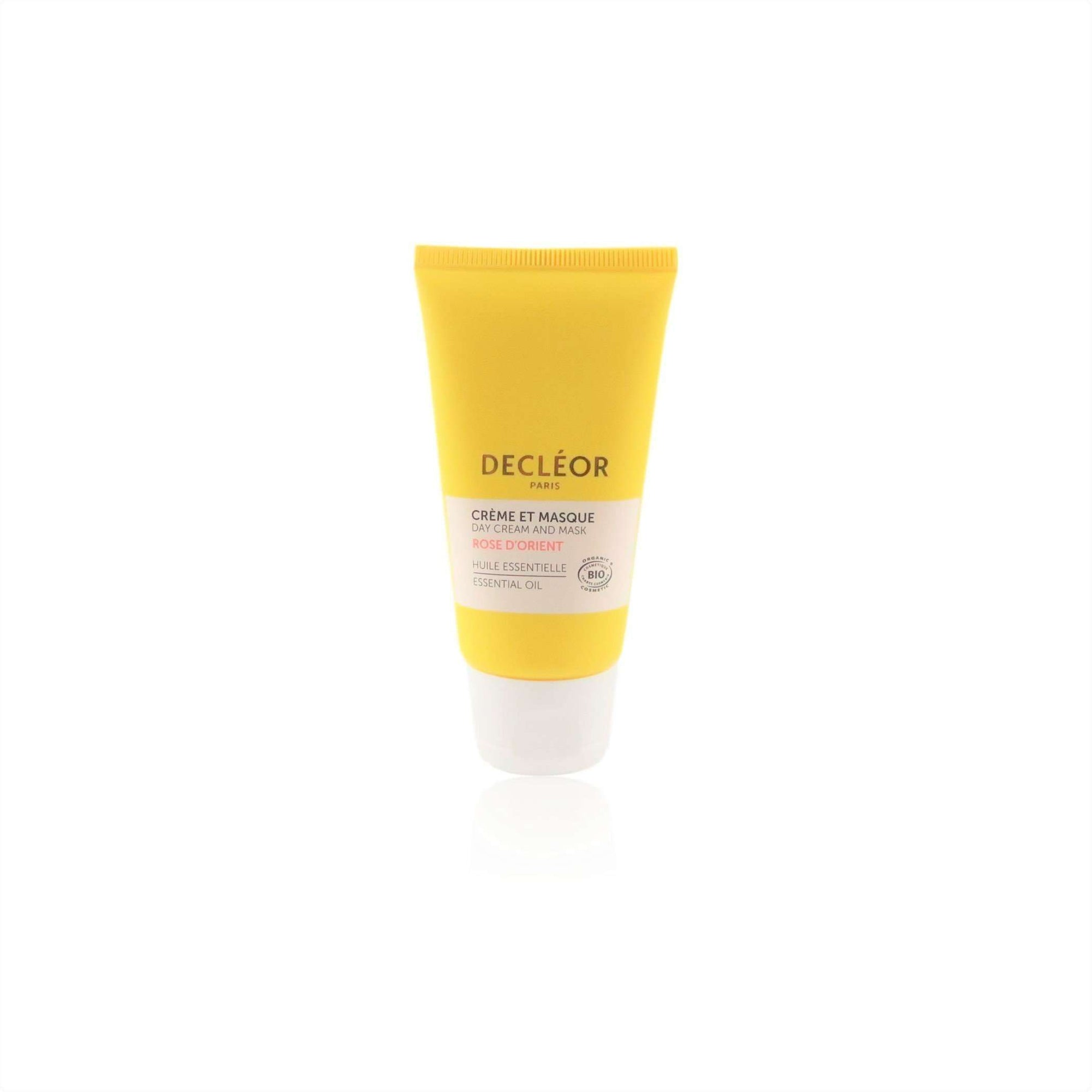 Decleor Organic Rose Damascena Soothing Day Cream and Mask