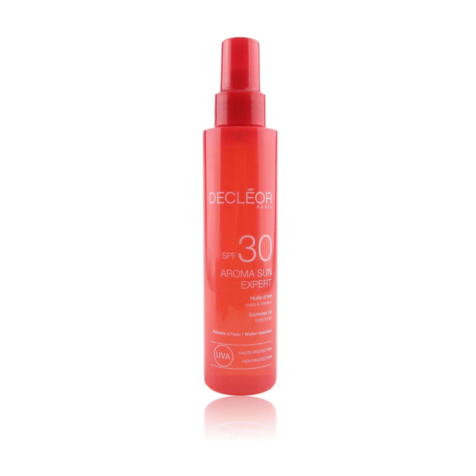 Decleor Aroma Sun Expert Summer Oil SPF 30 for Body & Hair
