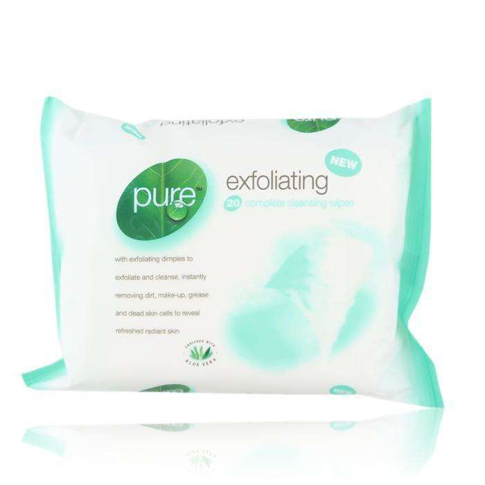 Pure Exfoliating Face Wipes
