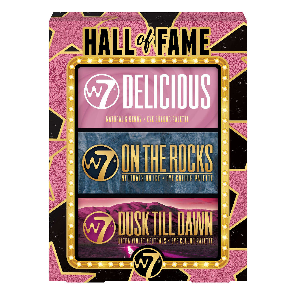 W7 Hall of Fame Gift Set