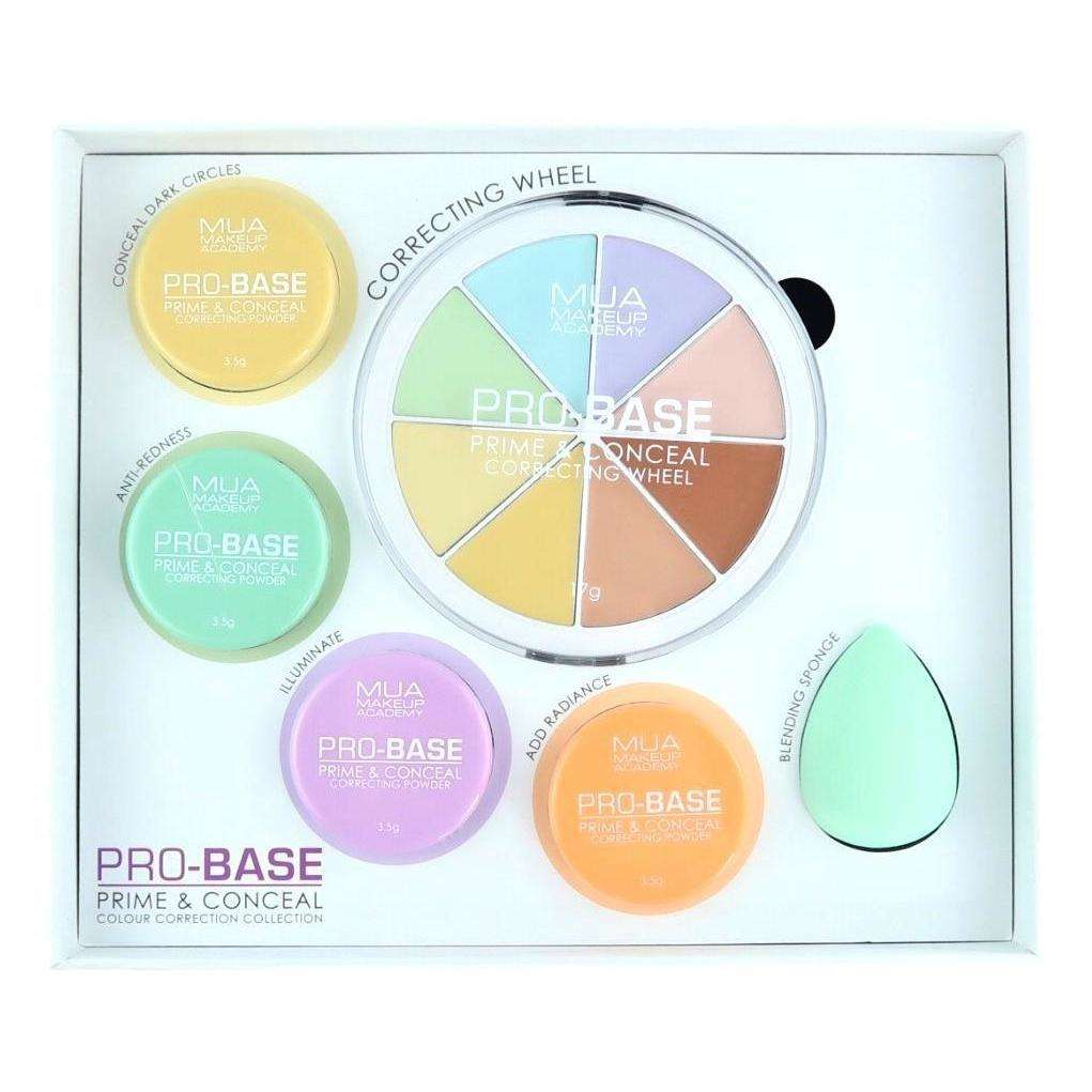 MUA Pro Base Prime & Conceal Colour Correction Collection