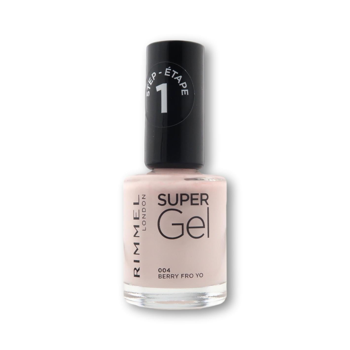 RimmelRimmel Super Gel Nail Polish 12ml Nail Varnish- Beauty Full Time