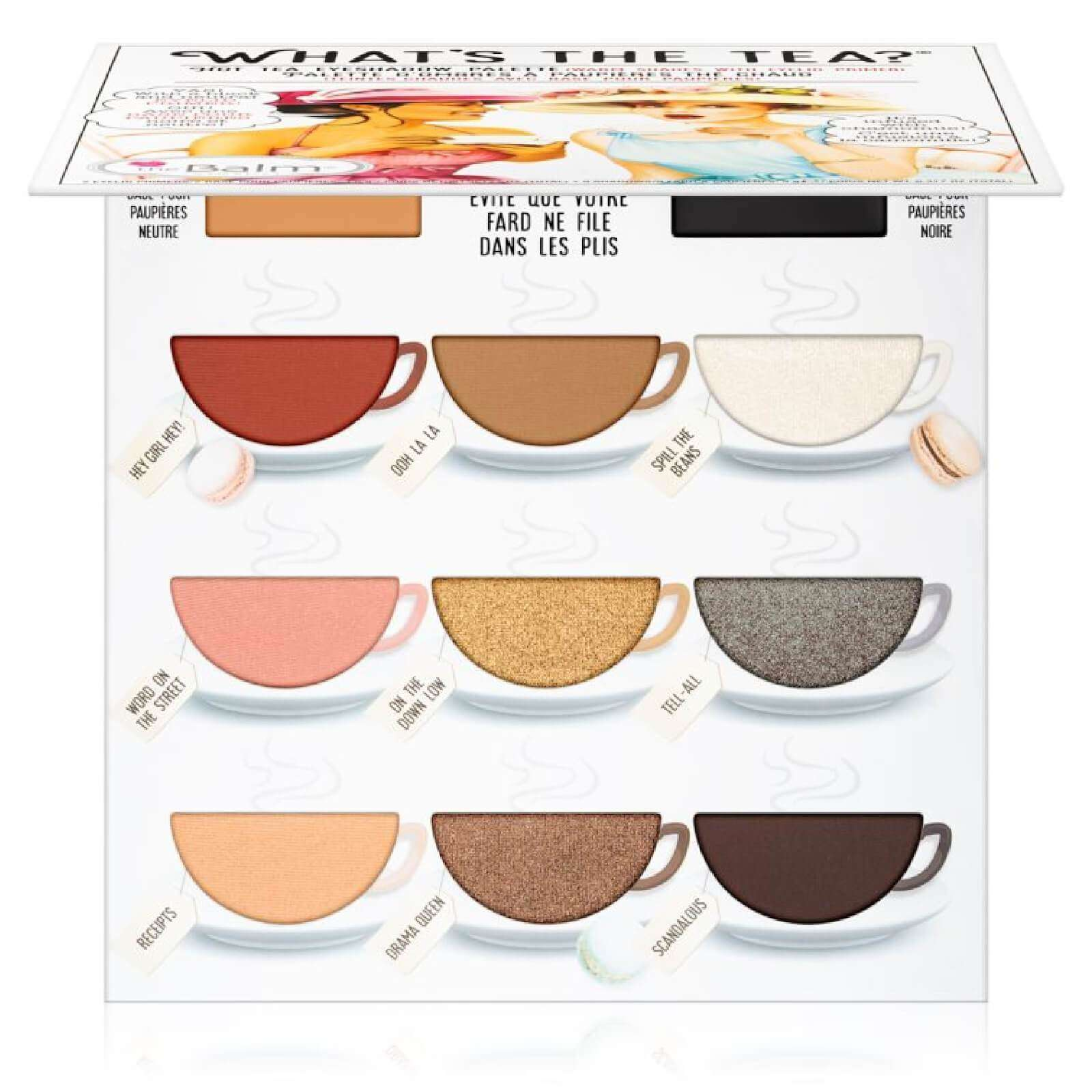 The Balm What's The Tea? Hot Tea Eyeshadow Palette