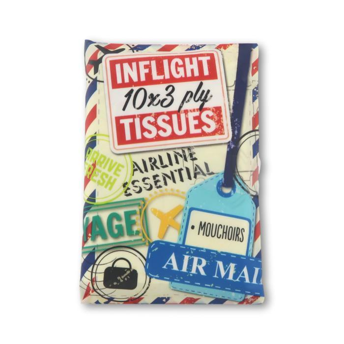 Mini Tissues Airline 10x3Ply