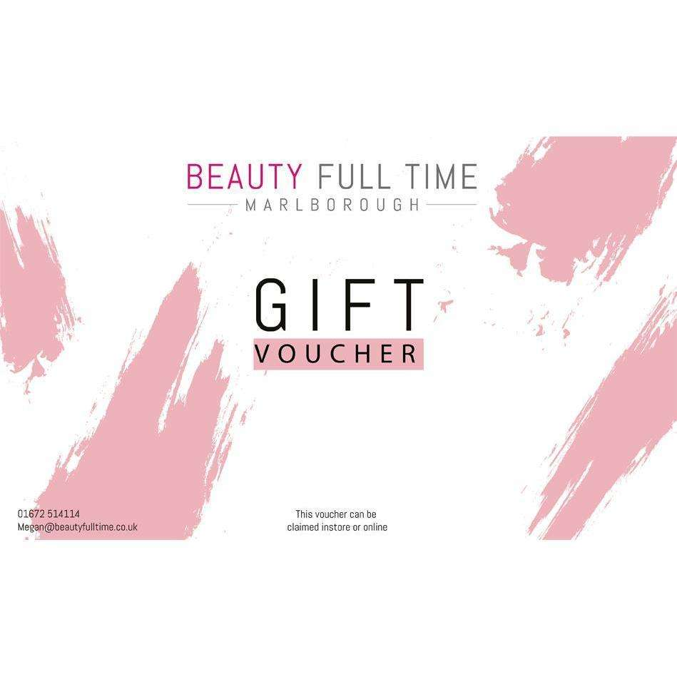 Beauty Full Time Gift Card