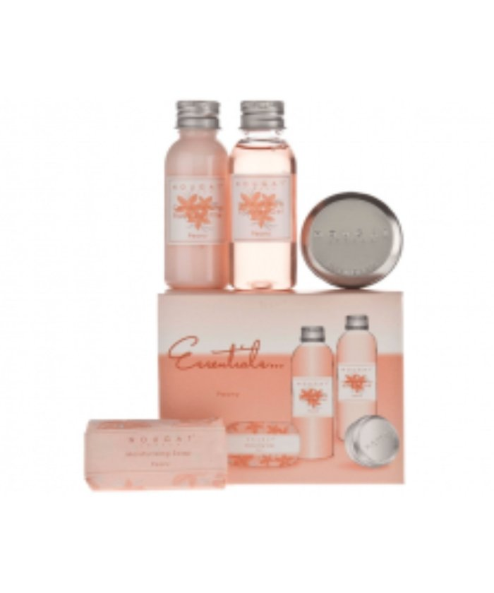 Nougat London BeautyNougat London Peony Essentials Travel Set Travel Essentials- Beauty Full Time