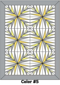"Baby Coo Digital Crib Quilt Patterns-36""x54"""