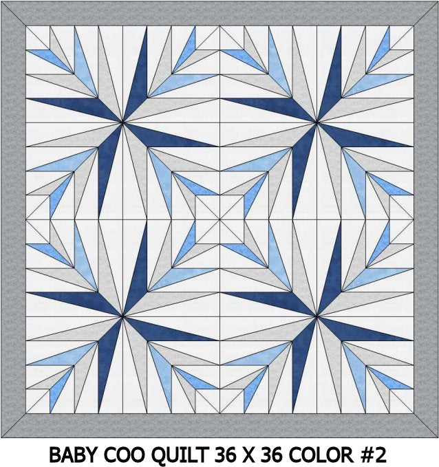 Baby Coo Digital Crib Quilt Patterns-36