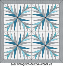 "Baby Coo Digital Crib Quilt Patterns-36""x36"""