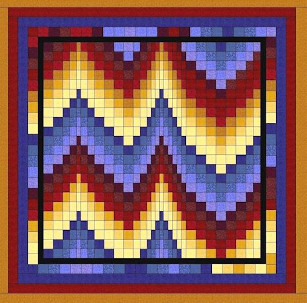 Bargello I Digital Quilt Patterns