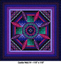 Castle Wall 4 Quilt Kits