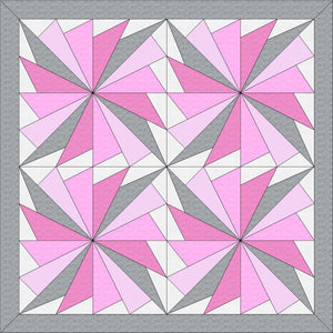 "Baby Cool Fan Digital Quilt Patterns 36"" X 36"""