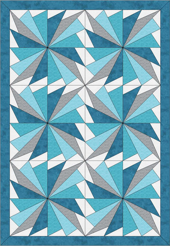 Baby Cool Fan Digital Quilt Patterns 36