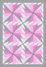 "Baby Cool Fan Digital Quilt Patterns 36"" X54"""