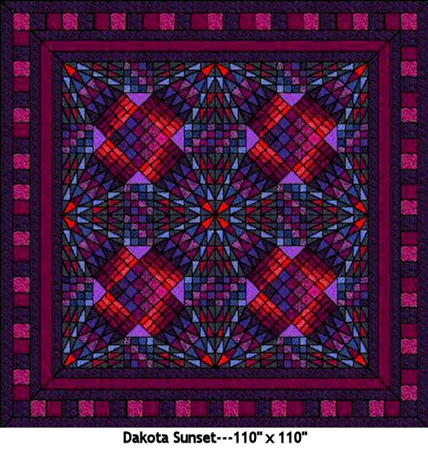 Dakota Sunset Quilt Kits