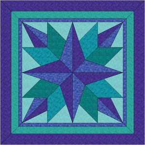 Evening Star Quilt Pattern