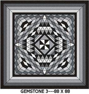 Gemstone 3 Quilt Kits