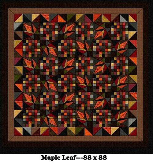 Maple Leaves Quilt Kits