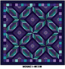 Mosaic 1 Digital Quilt Patterns