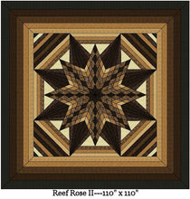 Reef Rose 2 Digital Quilt Patterns