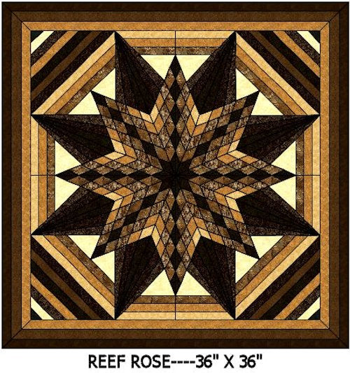 Reef Rose 2 Quilt Kits
