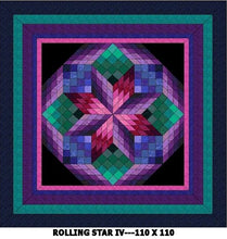 Rolling Star IV Quilt Kits
