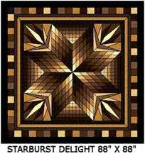 Starburst Delight Quilt Kits