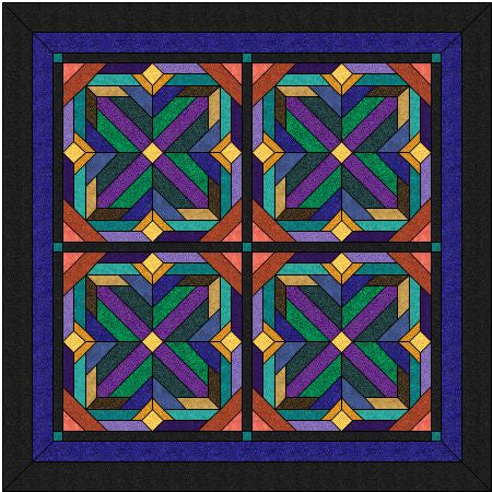 Tic-Tac-Toe Quilt Pattern