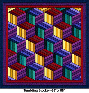 Tumbling Blocks Pattern