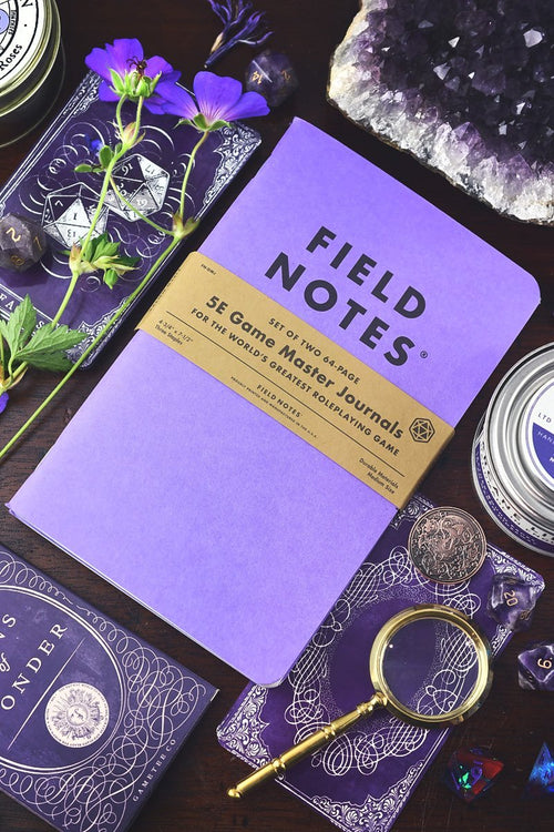2 Pack - Field Notes 5e Game Master Journals - GAMETEEUK