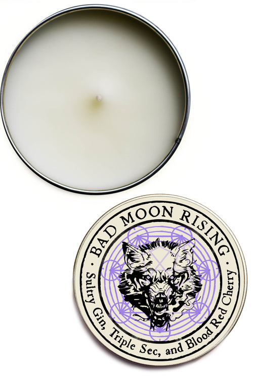 Bad Moon Rising - Double Size Limited Edition Candle
