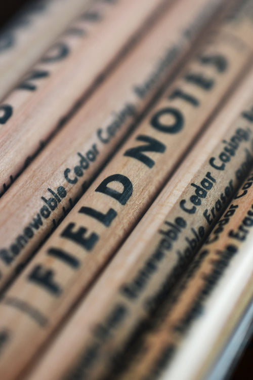 No.2 Field Notes Woodgrain Pencil 6-Pack