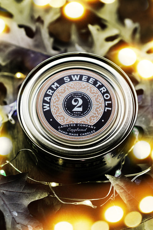 Warm Sweetroll Candle - Winter Scents No.2