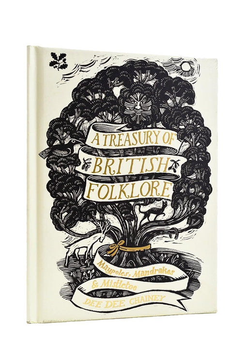 A Treasury of British Folklore: Maypoles, Mandrakes and Mistletoe (Hardcover) - GAMETEEUK