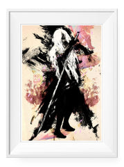 Angel - Art Print - GAMETEEUK