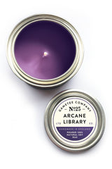 Arcane Library - Gaming Candle - GAMETEEUK