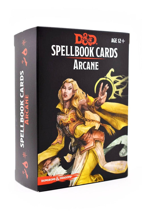 Arcane Spellbook Cards D&D - GAMETEEUK