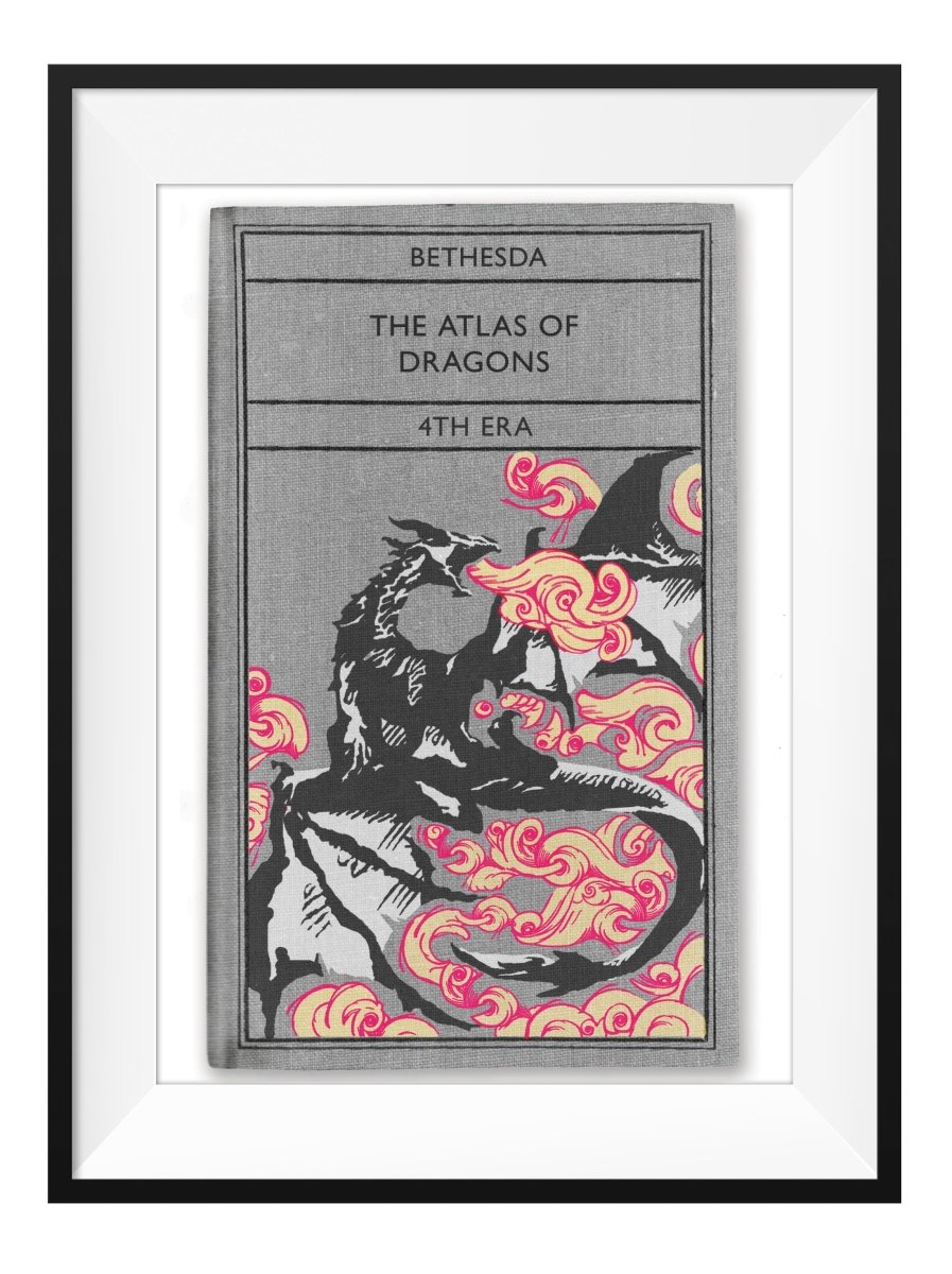 Atlas of Dragons - Art Print - GAMETEEUK