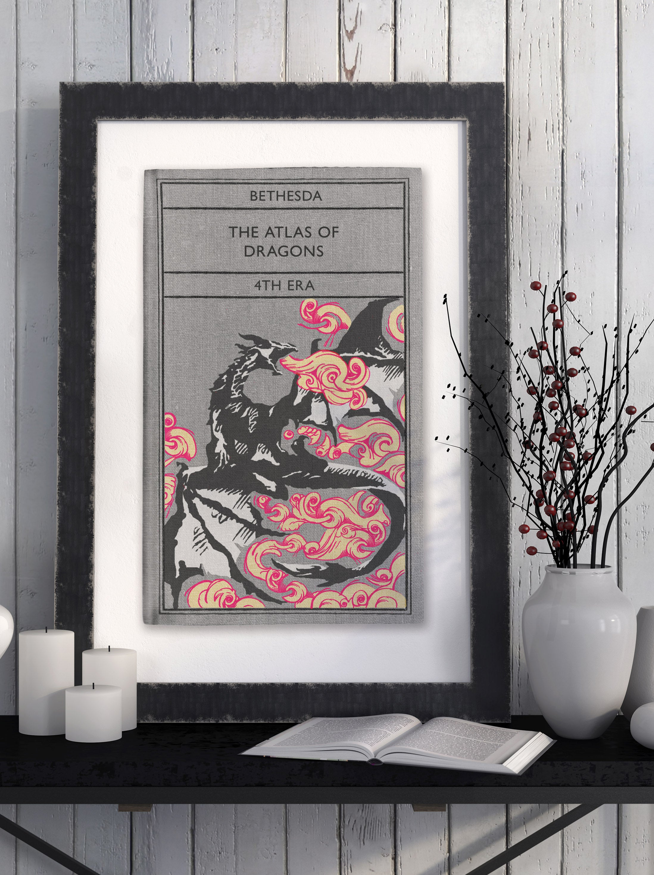 Atlas of Dragons - Art Print