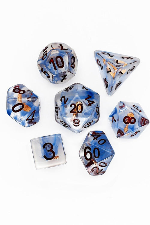 Bard's Violin - Adventurer's Equipment Dice Set - GAMETEEUK