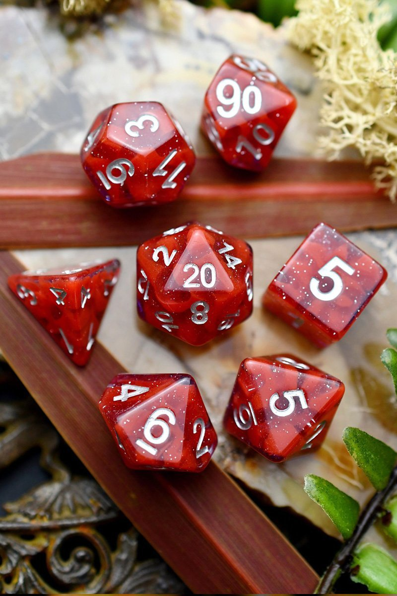 Bloodlust - Acrylic Dice Set - GAMETEEUK