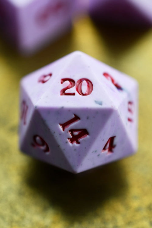 Brides of Dracula - Sharp-Edged Acrylic Dice Set - GAMETEEUK