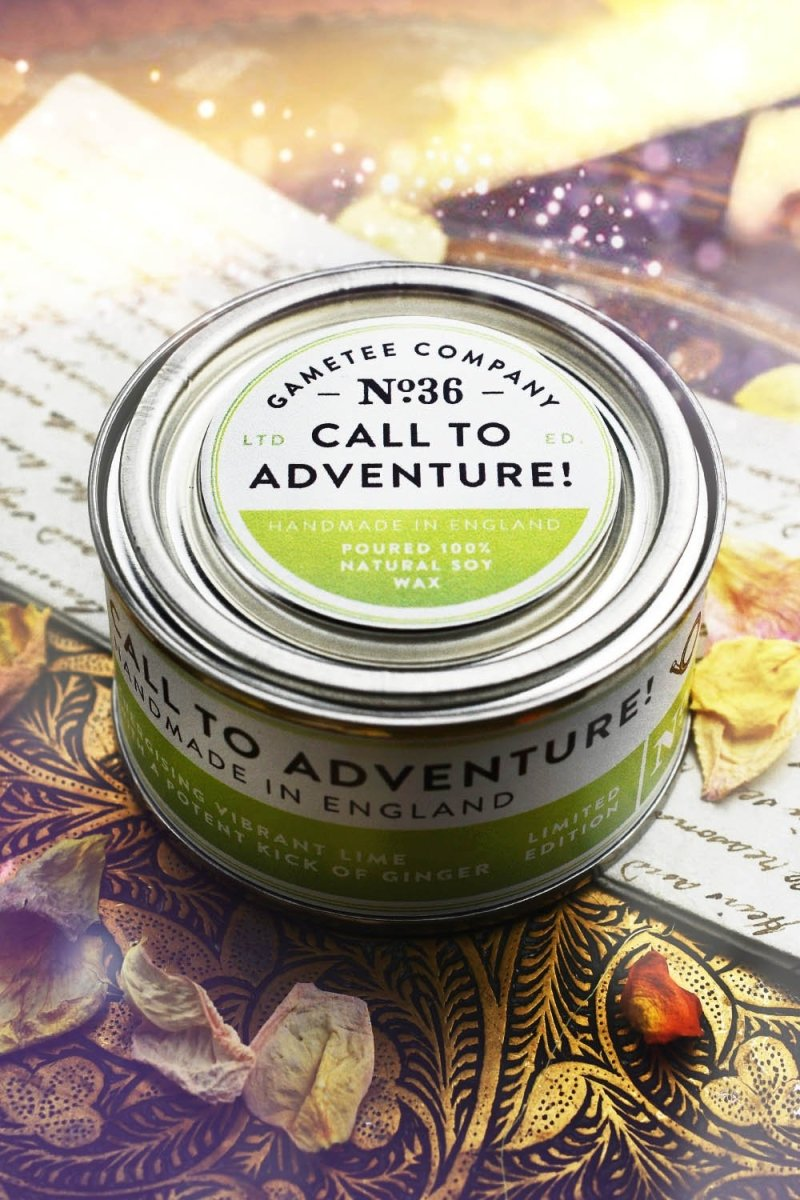 Call to Adventure! - Gaming Candle - GAMETEEUK