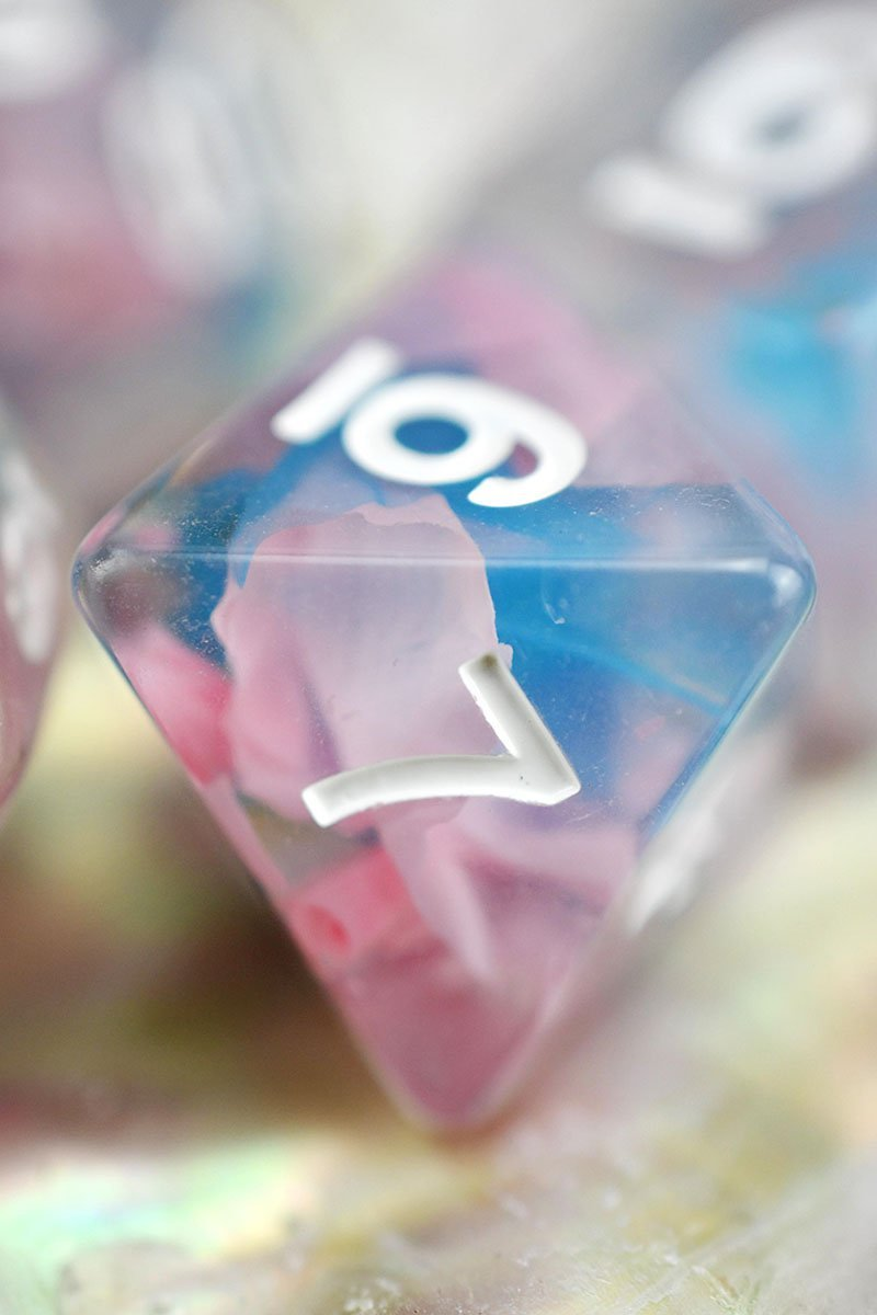 Candyfloss - Ribbon Dice Set - GAMETEEUK