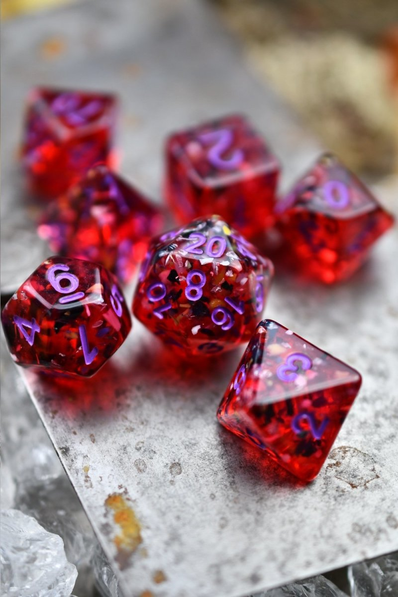 Chaos Theory - Anomalous Acrylic Dice Set - GAMETEEUK
