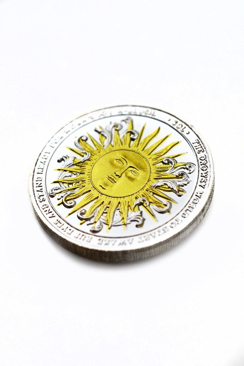 Coin of Sun and Moon - GAMETEEUK