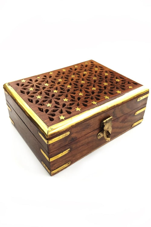 Constellation - Handmade Dice and Accessory Box - GAMETEEUK