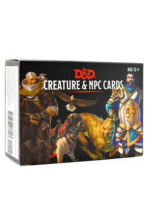 Creature and NPC Cards D&D - GAMETEEUK